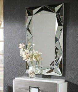 Espejo espejos pinterest espejo cristales y recibidor - Cristales y espejos ...