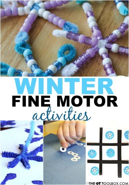 Photo of Winter Fine Motor Activities – The OT Toolbox