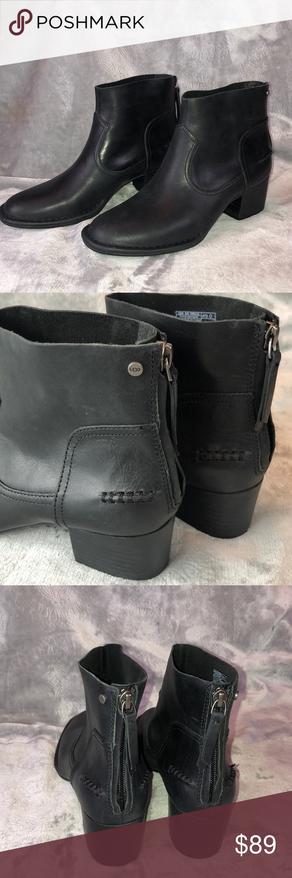 5243de33a22 UGG BANDARA LEATHER Ankle Boot NWT Brand new and never worn. NWT ...