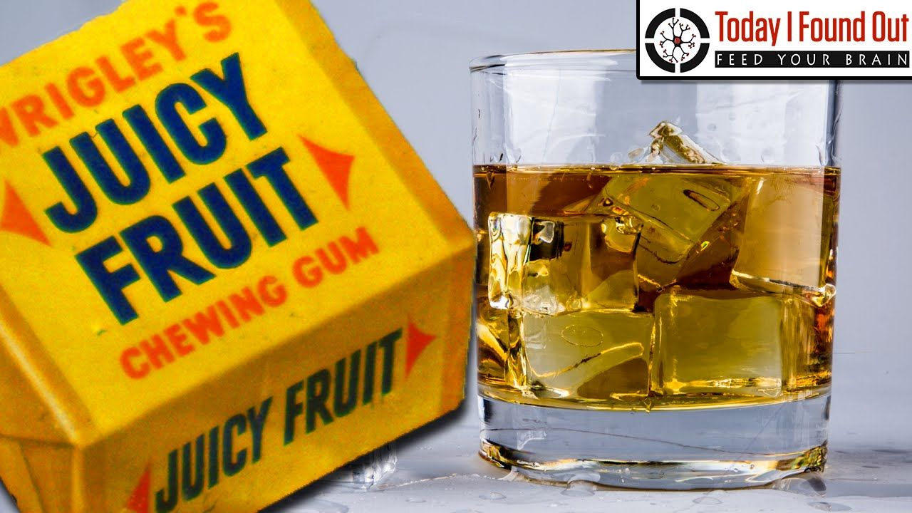 """What Exactly is the """"Juice"""" in Juicy Fruit Gum?"""