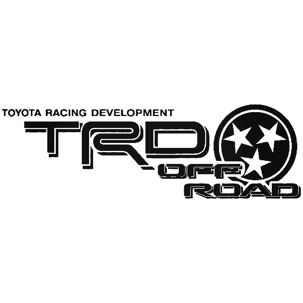 Toyota trd off road tennessee vinyl decal sticker ballzbeatz com