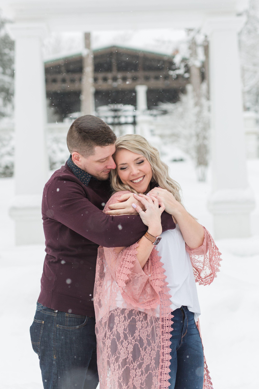 This romantic photo shoot took place in the winter in WNY #engagmentring #weddingplanner #weddingphotographers #weddingwednesday #celebration #celebratelove #buffalolove #erieweddings #pennsylvaniaisbeautiful #loveauthentic #insideweddings #weddingbehindthescenes #greenweddingshoes #wedventuremag #eriepa #snowlover #snowyphotoshoot #snowing❄️ #snowfall #snowphotography #snowdays #snowglobe #nothernphotography