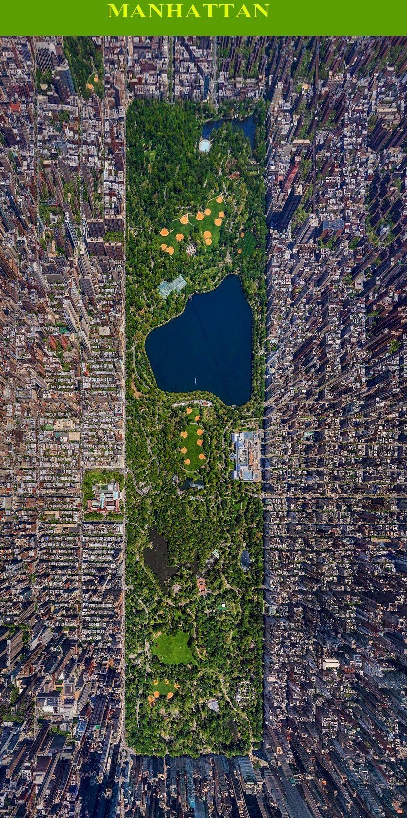 New York Usa Newyork America Maps Traveltips Bird S Eye New York City Buildings City Aerial