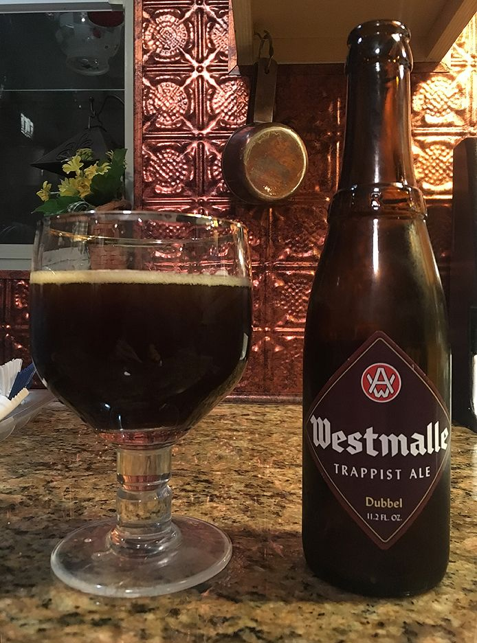 Dubbel by Westmalle Brewery; Westmalle, Belgium.