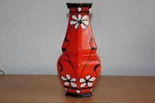 Alte Jugendstil Vase Keramik Czech Pottery