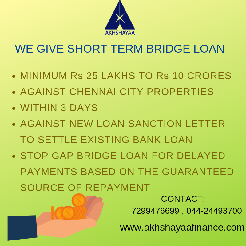 What Is Bridge Loan Bridge Loan Is A Short Term Loan For Stop Gap Funding You Are Expecting To Receive Guaranteed Source Of Bridge Loan Loan Finance Loans