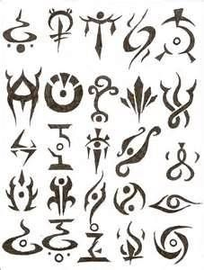 Symbol Tattoos And Their Meanings | Too cute! | Symbolic