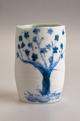 Blue and White Porcelain Ceramics