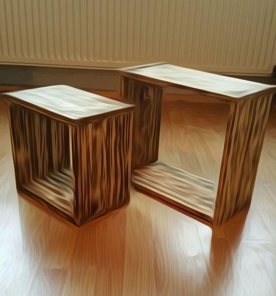 Bücherregale Cube Würfel Regal Shabby Geflammt Ein