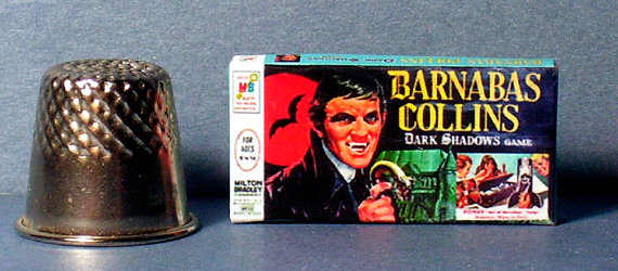 Dollhouse Miniature 1:12   Dark Shadows Game   haunted house  Barnabas game toy