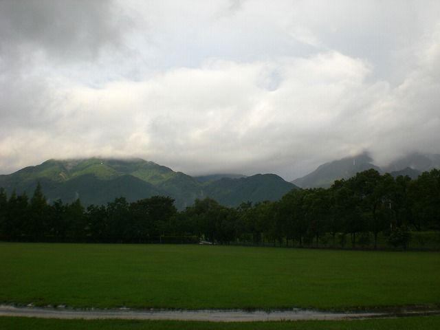 菰野町大羽根園地区 雨上がりの早朝散歩風景  平成24年8月19日撮影