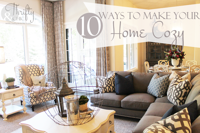 Creating A Cozy Bedroom Ideas Inspiration: 10 Ways To Make Your Home Cozy For The Winter