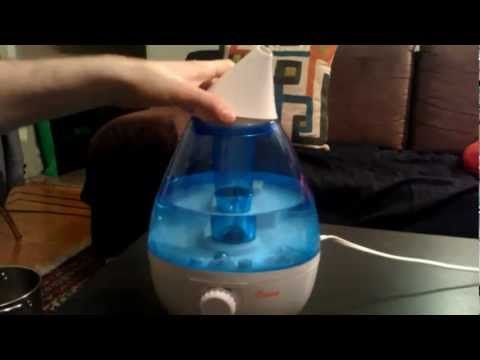 How to fix Crane humidifier loud fan motor noise problem! Annoying problem fixed! - YouTube