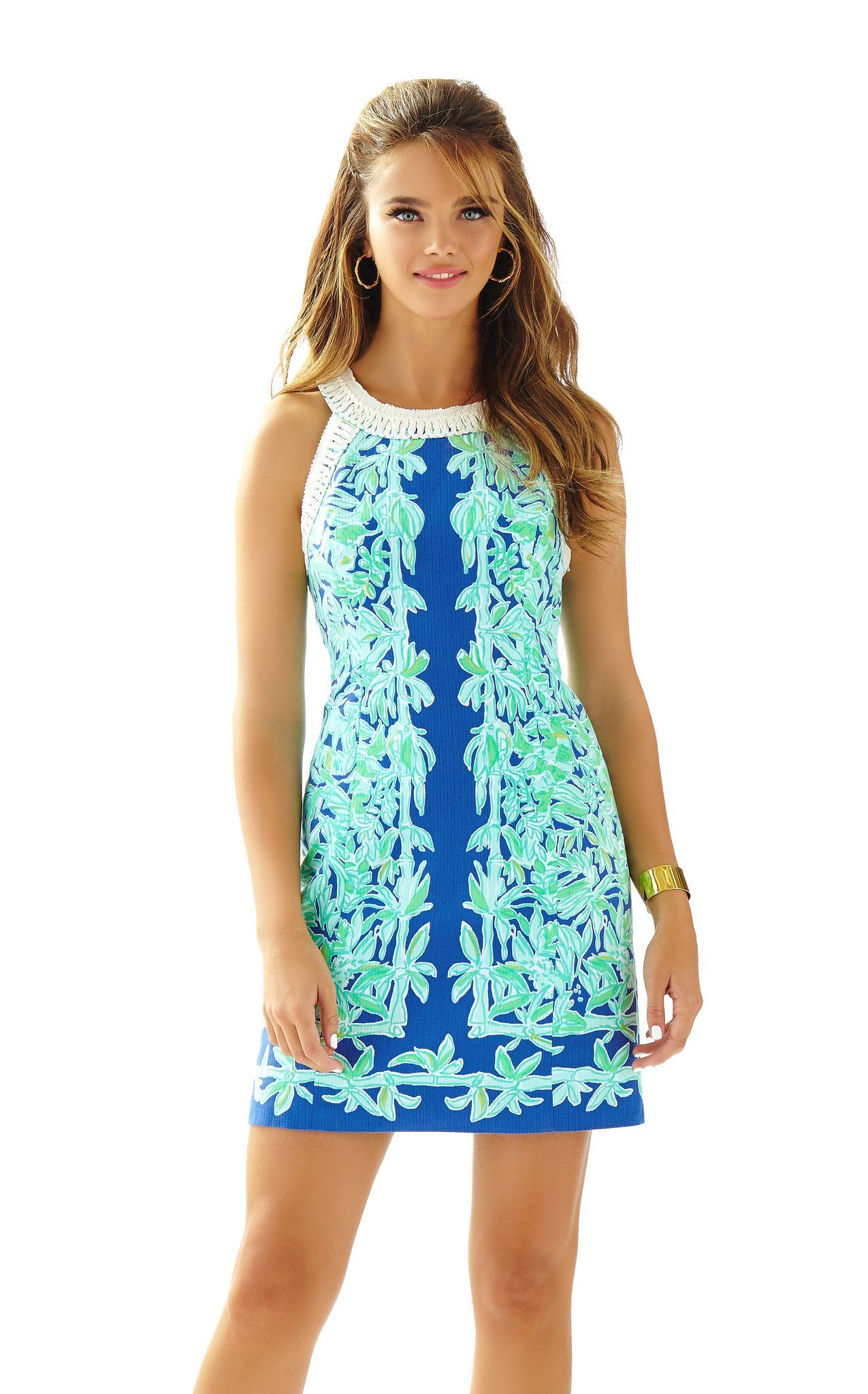 cc65fac821fed8 Lea Shift in Poolside Blue Koala On the Wild | Lilly Pulitzer ...