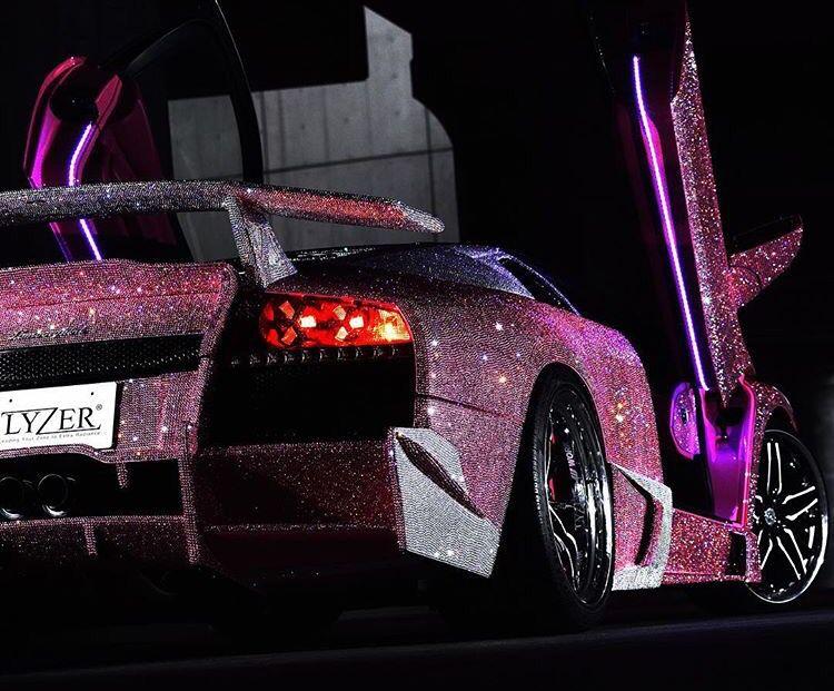 Lyzer Tokyo Pink Swarovski Crystal Lamborghini