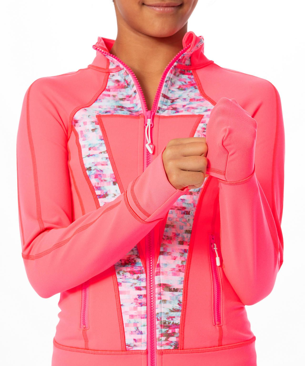 Shop The Perfect Your Practice Jacket Girls Jackets Outerwear Stretch After Practice In This Sweat Wick Technical Clothing Girls Jacket Outerwear Jackets [ 1536 x 1280 Pixel ]