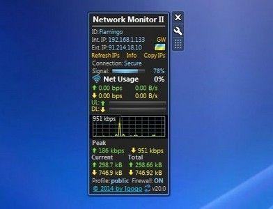 Network Monitor Ii 20 0 Windows 7 Desktop Gadget Http