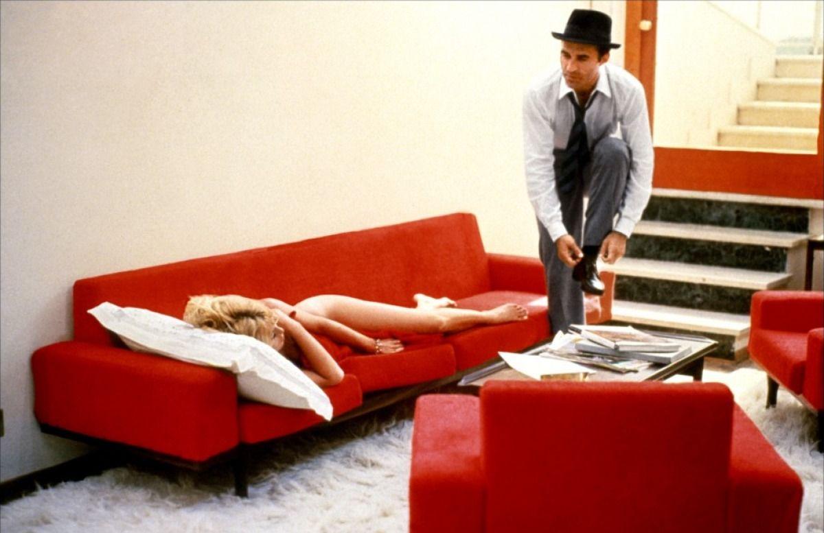 "Michel Piccoli, Brigitte Bardot dans ""Le Mépris"" (Jean-Luc Godard, 1963)"