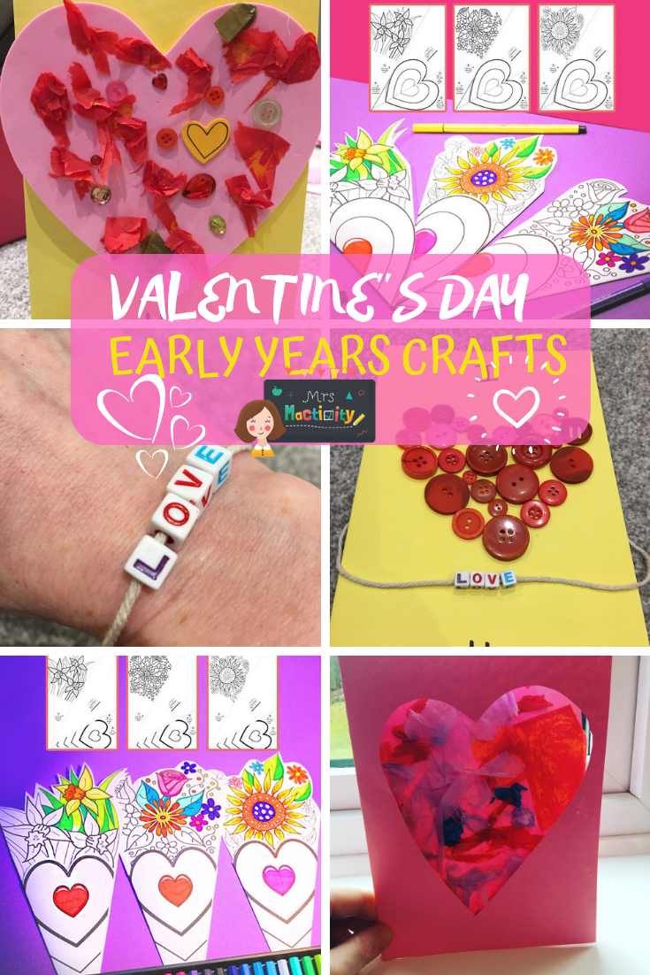 Make Our Super Easy Valentine S Day Crafts For Early Years Eyfs