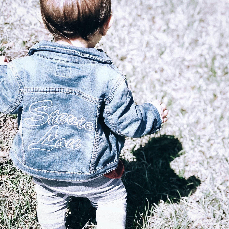 Embroidered Denim Jacket for toddler