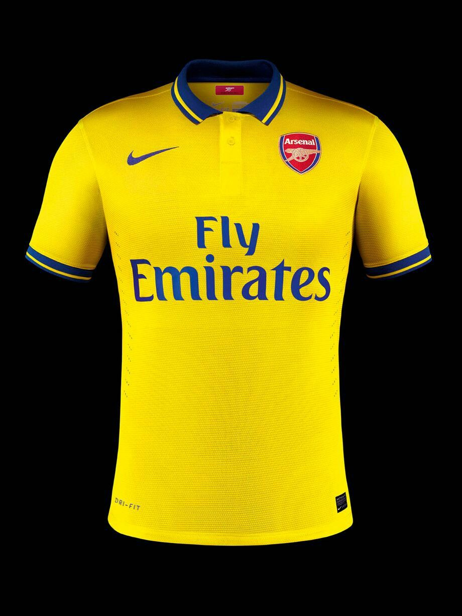 567179420 Arsenal away shirt for 2013-14.