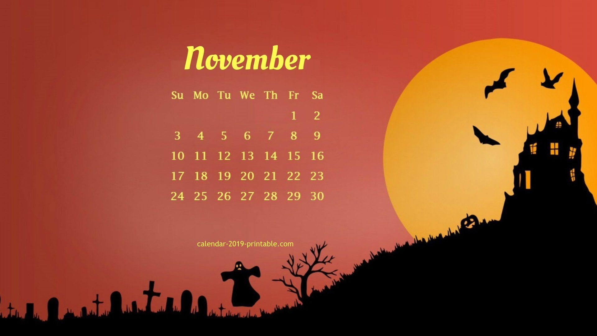 november 2019 unique calendar wallpaper Calendar