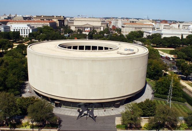 The Hirshhorn Museum and Sculpture Garden in Washington DC is the best of all the Smithsonian museums... at least to me!