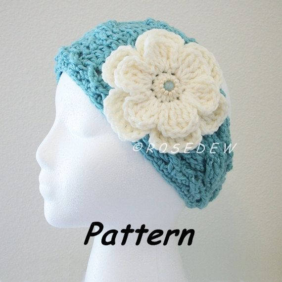 Instant Download to PDF Crochet PATTERN: The New Twist Headband with ...