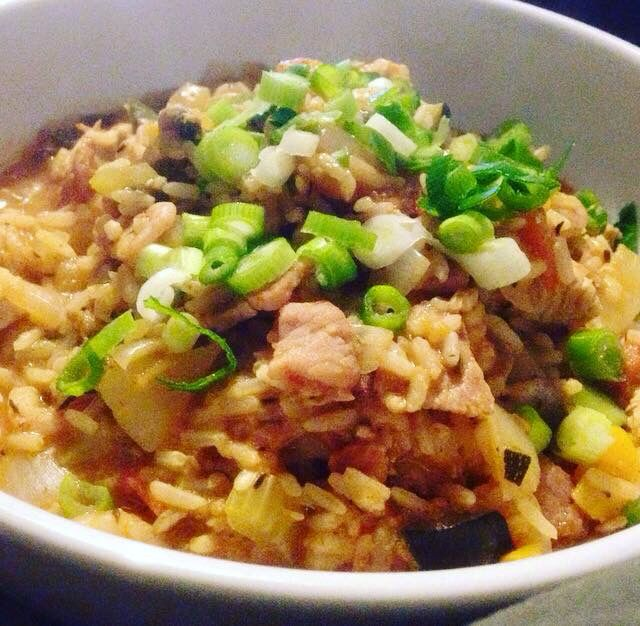 Hairy Bikers Jambalaya with a Slimming World twist  (EE free) #SlimmingWorld