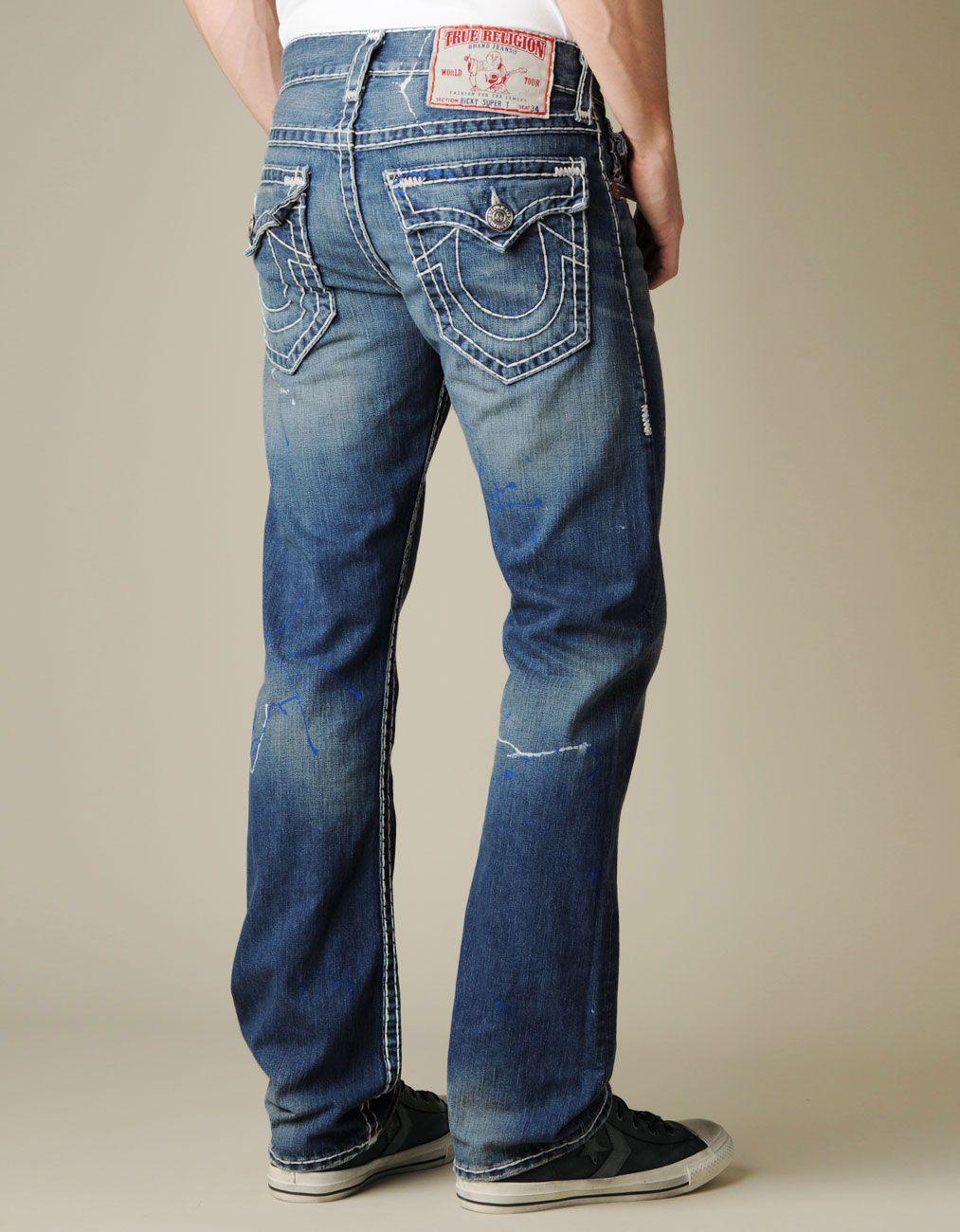 4eca66938 MENS RICKY SUPER T JEAN    True Religion True Religion Jeans