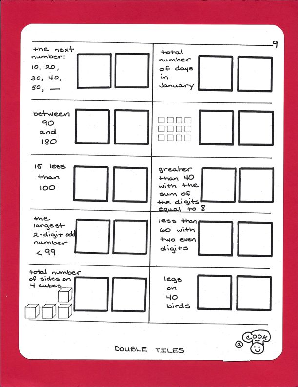 Marcy Cook Tiles These Were Used During The Old Thinking Skills Days Middle School Math Math Worksheets Education Math Algebra tiles worksheets 6th grade