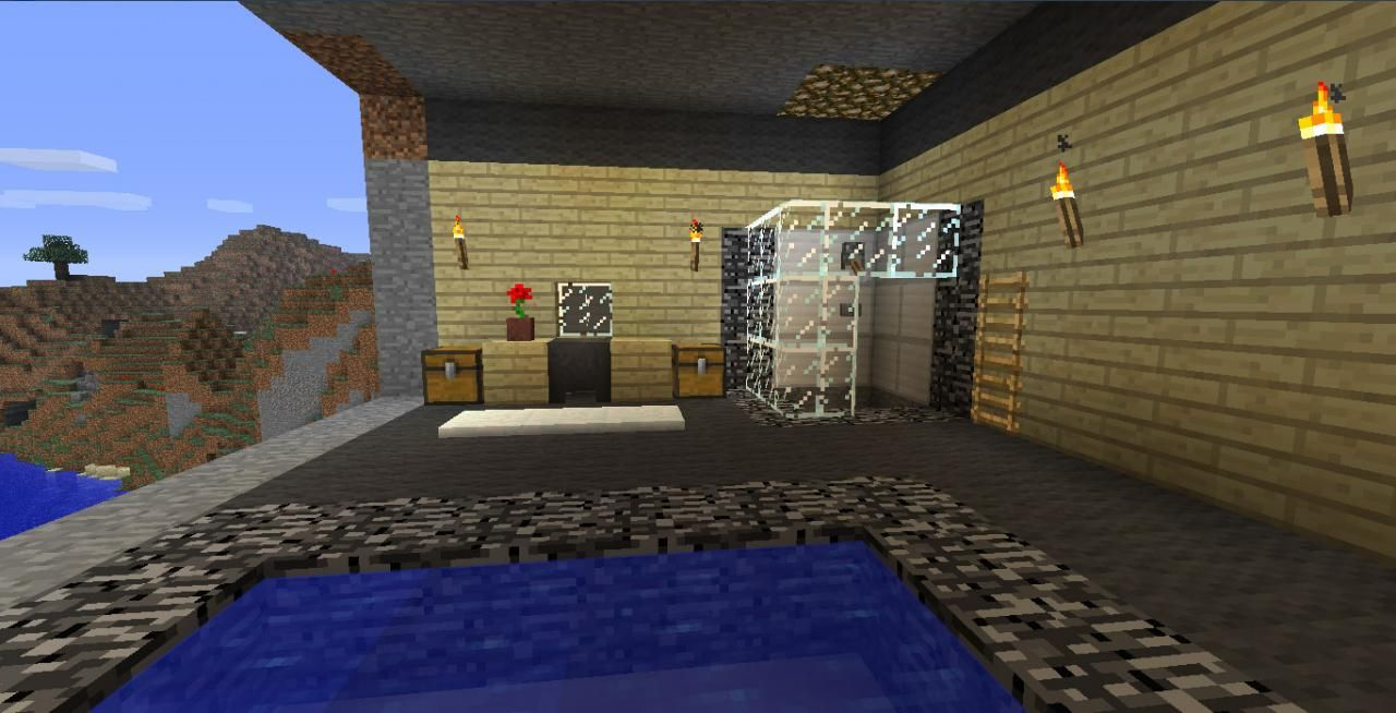 Emejing Salle De Bain Moderne Minecraft Pictures - Awesome ...