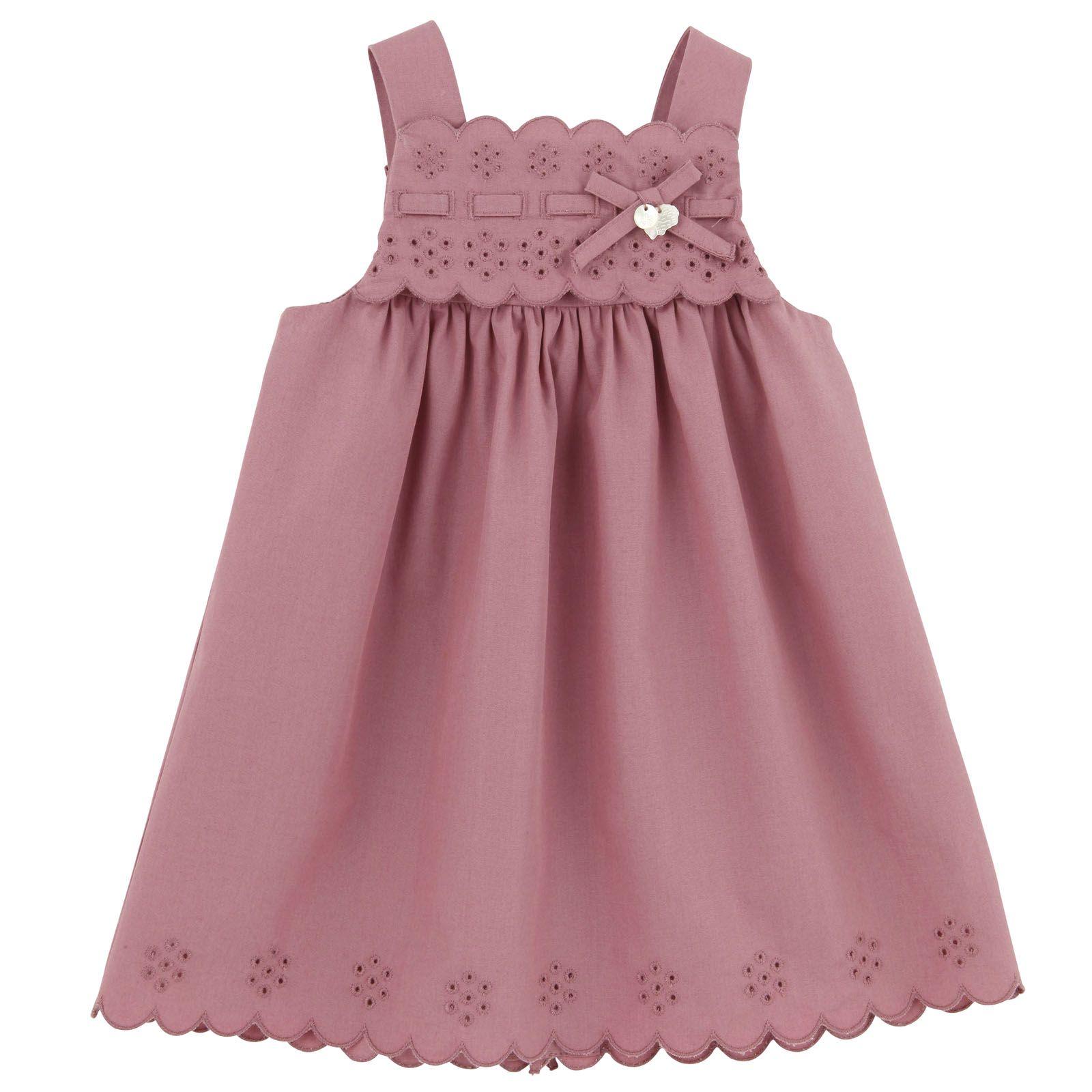 Tartine et Chocolat Sienna pink poplin dress | Melijoe.com | Платья ...