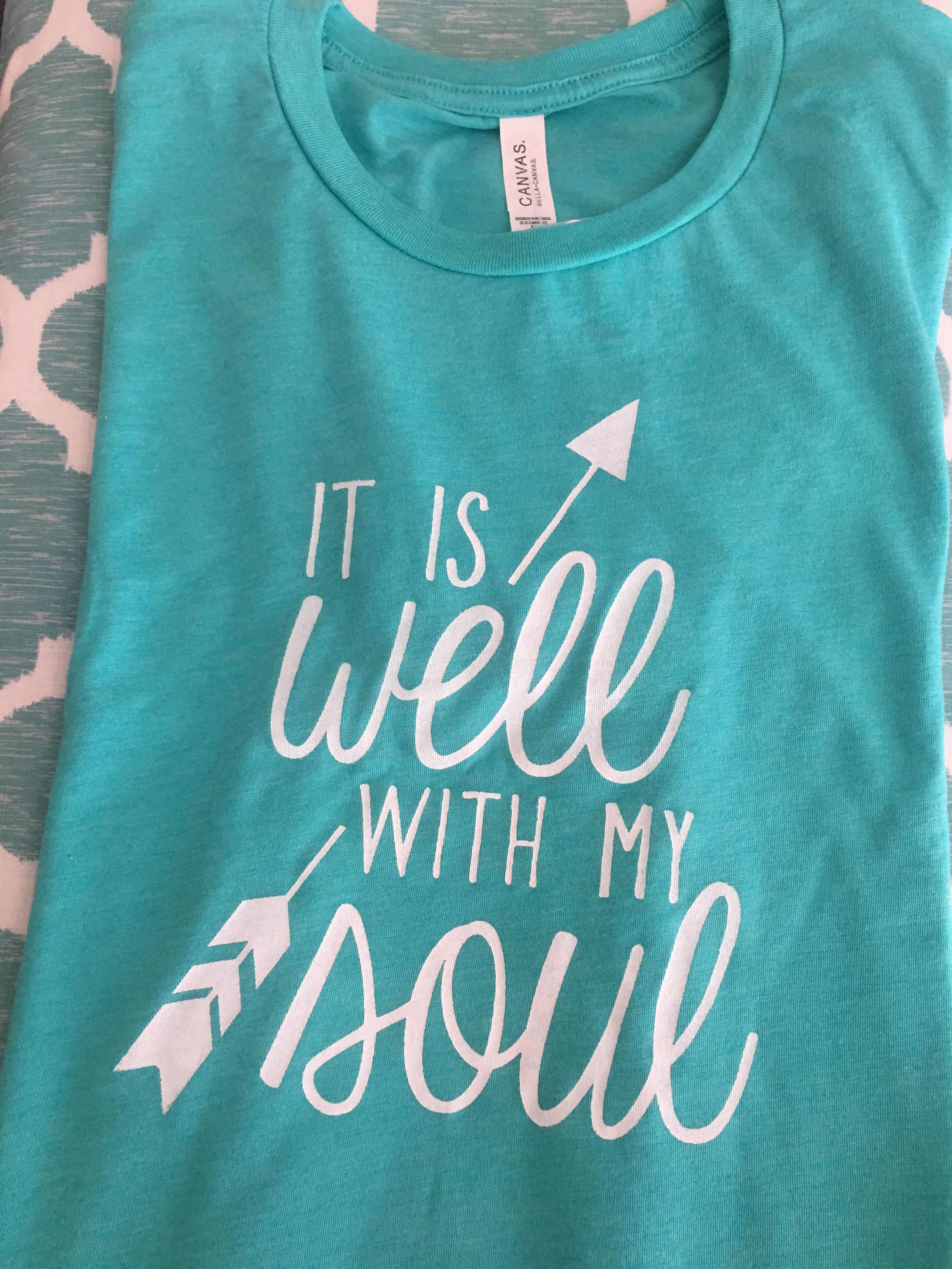 It is Well with My Soul Shortsleeve UNISEX Tshirt