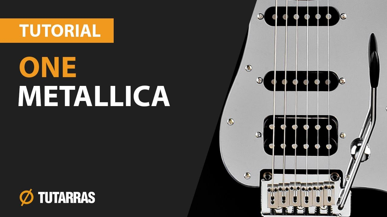 How To Play One From Metallica Electric Guitar Guitar Lesson