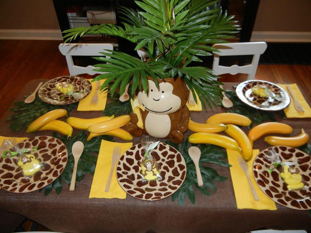 monkey baby shower decorations ideas baby shower invitation ideas