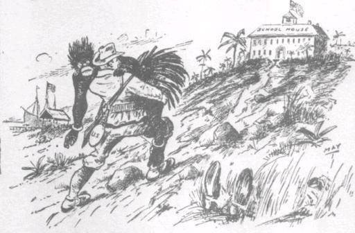White Man's Burden Cartoon