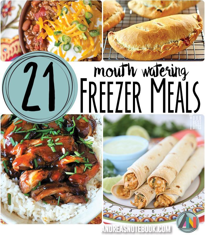 21 mouth watering freezer meals dinner problems solved frozen
