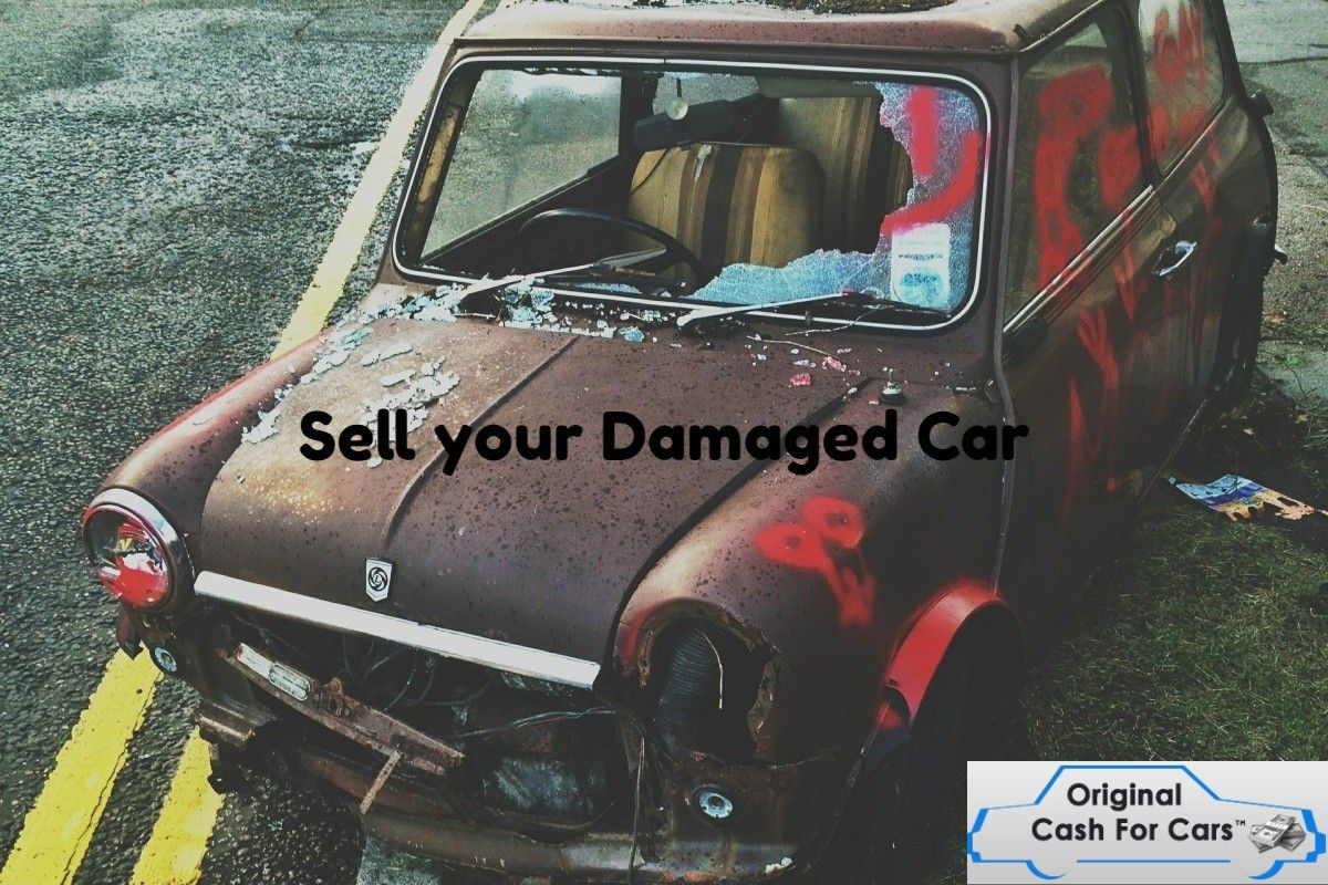 Sell your Damaged Car | Sell Damaged Car | Pinterest
