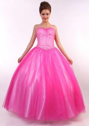 pink princess prom dresses | Madison Wi Wedding | Pinterest ...