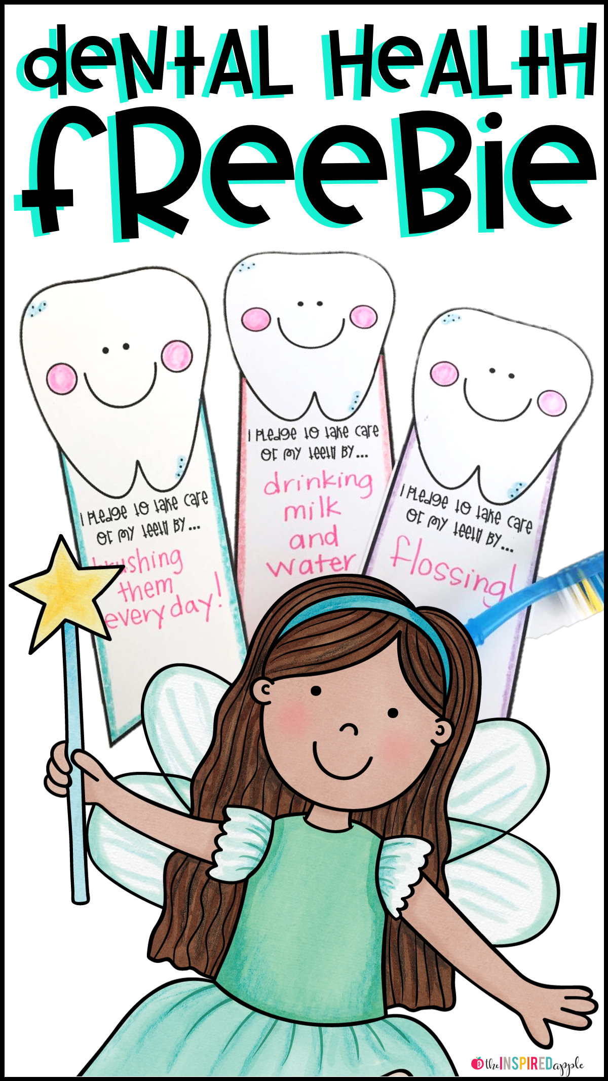 Dental Health Activity And Free Printable