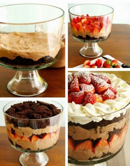 How to make christmas chocolate strawberry trifle by yourself how to make christmas chocolate strawberry trifle by yourself christmas chocolate trifle solutioingenieria Gallery