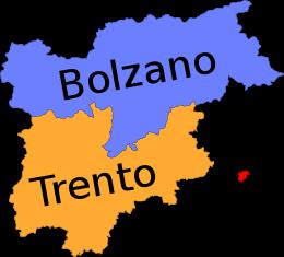 Province Trentino Alto Adige Cartina.Trentino Alto Adige Wikipedia Alto Adige Mappa Dell Italia L Insegnamento Della Geografia