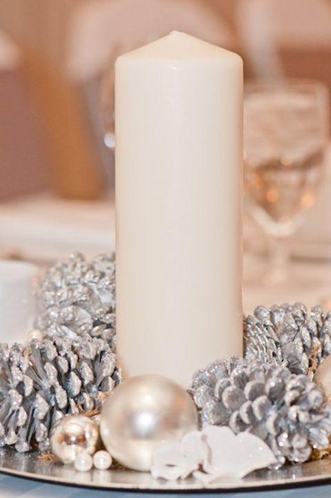 57 Tannenzapfen Dekor Ideen für Ihre Hochzeit #dekoweihnachtentisch