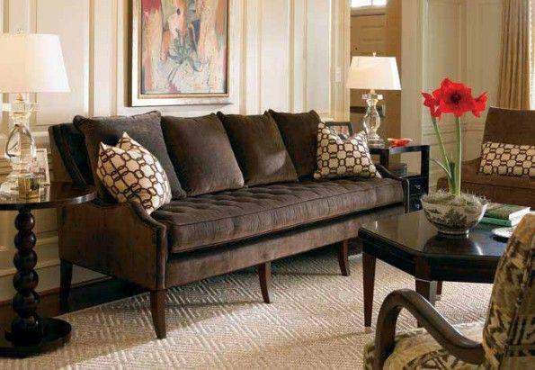 Kahverengi Koltuk Takimi Oturma Odasi Salon Dekorasyonu
