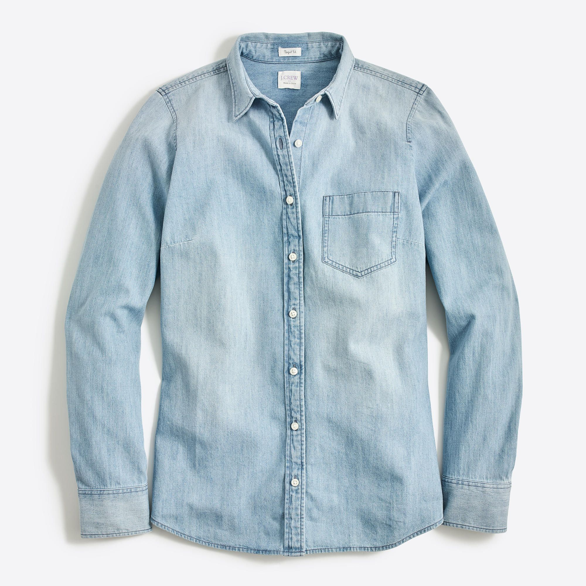 Spirio Men Casual Lapel Slim Fit Short Sleeve Buttons Demin Jeans Shirts