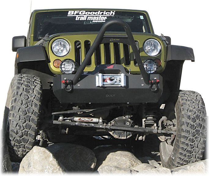 Or Fab Front Bumpers Provide Extra Clearance For Extreme Approach
