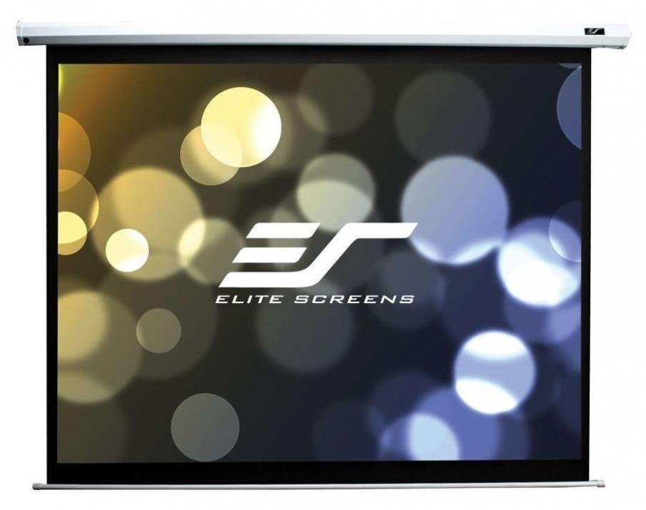 Multimedien Ekran Elite Screen Electric100v Spectrum 100 203 2 X 152 4 Byal 57516 Cena Plasico It Superstore Projection Screen Projector Screen Electric Screen