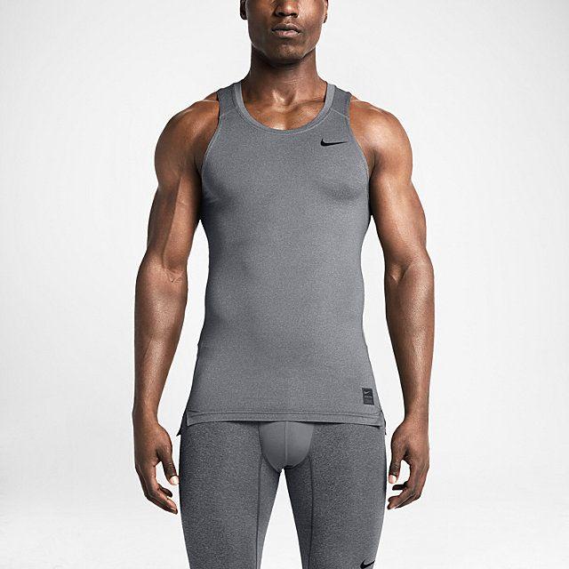 11ddb4964b4 Nike Pro Cool Compression Men's Tank Top. Nike.com   Run Wear ...