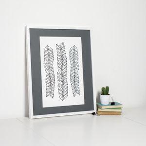 Image of Leaf Pattern Print by Sweet Oxen www.sweetoxen.co.uk